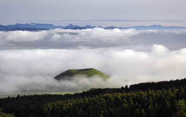 Cloud, Aso, Sea Of Clouds, Japan, Somma, Sky, Komezuka