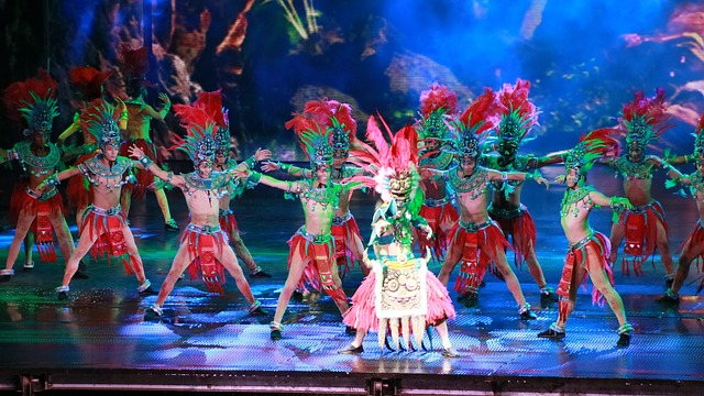 Dance Show, Songcheng, Culture, Aboriginal People