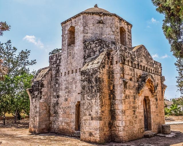 Cyprus, Sotira, Ayios Mamas, Church, Medieval
