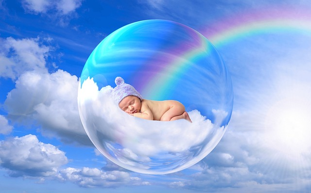 Baby, Soul, Creature, Child, Person, Human, Cloud