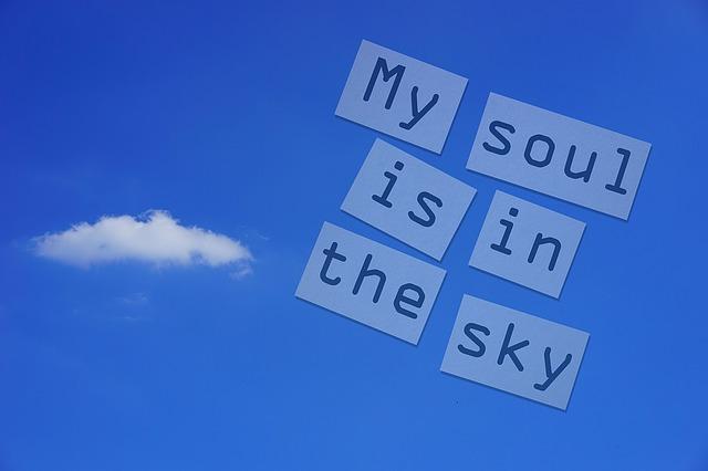 Soul, Sky, Shakespeare, Cloud, Clouds