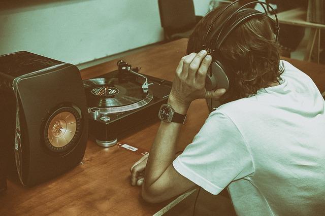 Music, Vinyl, Motherboard, Sound, Gramophone, Vintage