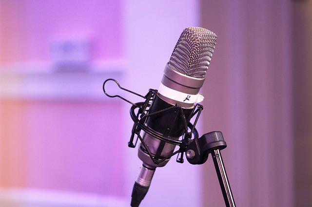 Podcast, Mic, Equipment, Microphone, Audio, Sound