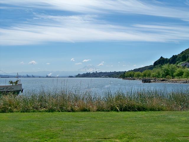 Tacoma, Washington, Commencement Bay, Puget, Sound
