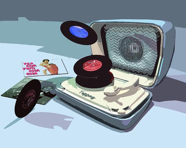 Teppaz, Turntable, Vintage, Music, Disk, Sound, Retro