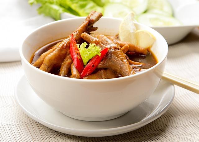 Chicken, Leg, Soup, Menu, Lunch, Cafe, Restaurant, Cook