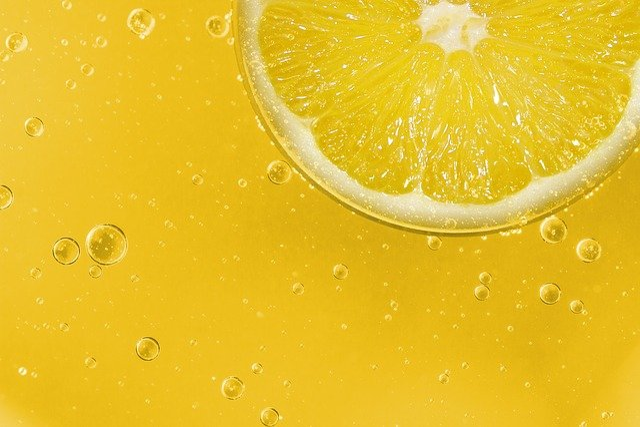 Lemon, Fruit, Sour, Yellow, Slice Of Lemon