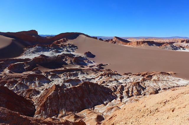 Valle De La Luna, Chile, Desert, South America