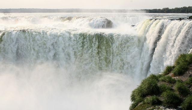 Scenery, Iguazu Falls, Argentina, South America