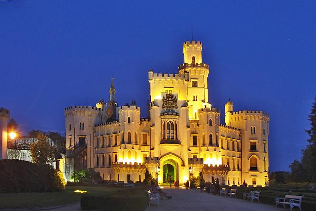 Castle, Czech, Czech Republic, South Bohemia