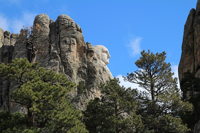 George Washington, Mount Rushmore, South Dakota