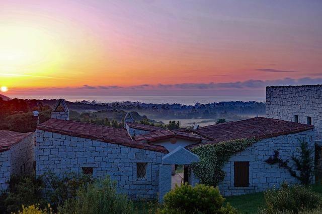 Sardinia, Sunrise, South East Coast