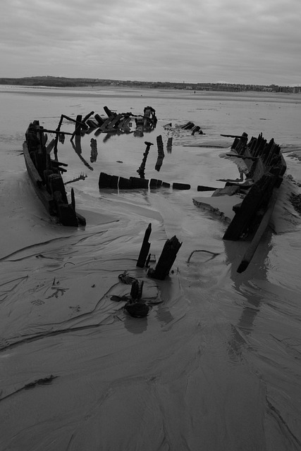 South Shields, Wreck, South Foreshore, Beach, Beached