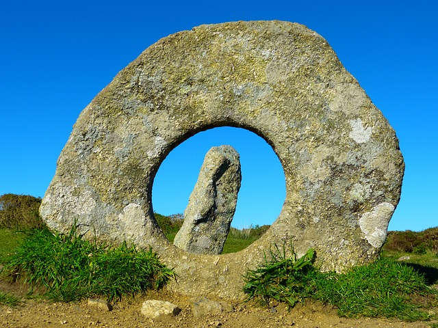 Men-an-tol, Brick, Cornwall, South Gland, Granite