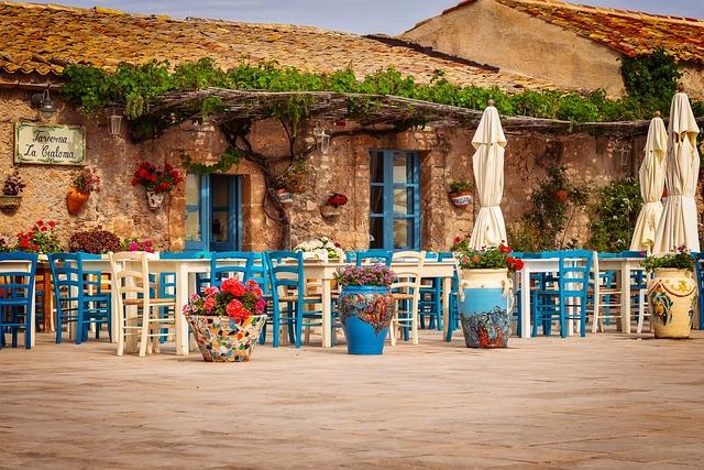 Restaurant, Tavern, Sicily, Marzamemi, South