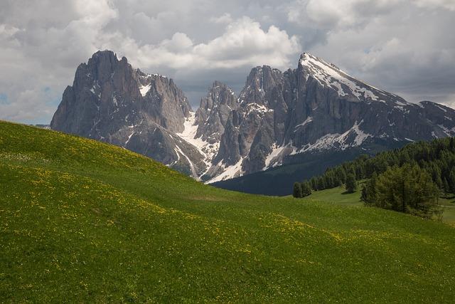 South Tyrol, Seiser Alm, Mountains, Panorama