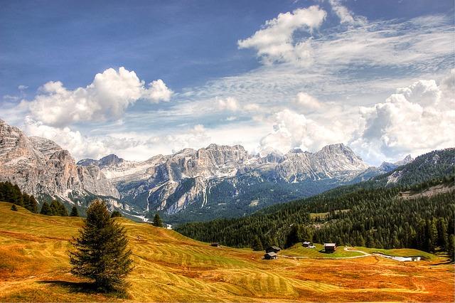 Dolomites, Mountains, Italy, South Tyrol, Alpine, View