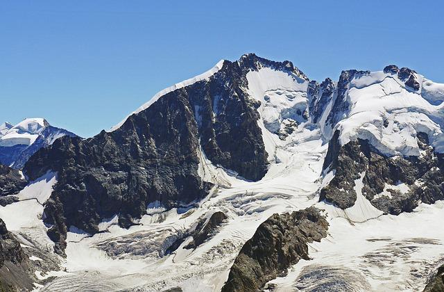 Piz Bernina, Southeast Switzerland, Switzerland