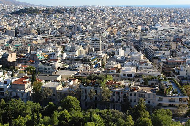 Athens, Close Settlement, Southern European Large City