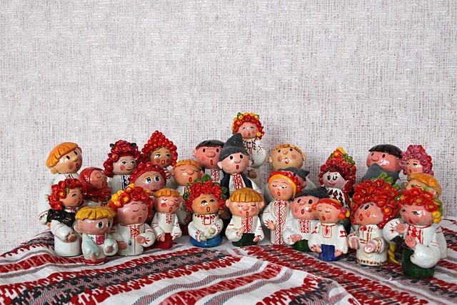 Ukraine, Ukrainians, Action Figures, Souvenir, Ethno