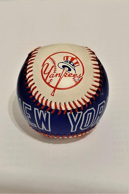 Baseball, Souvenir, Leather, Yankees, New York Yankees
