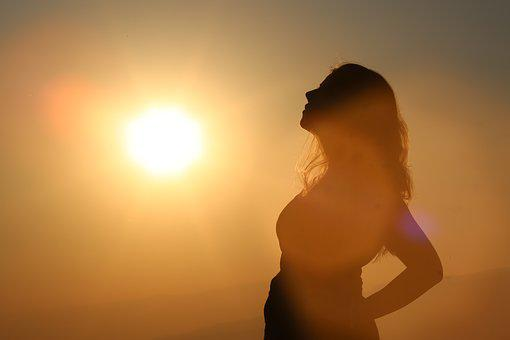 Women, Female, Sun, Holiday, Face, Pregnant, Baby, Spa