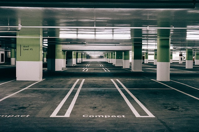Parking, Space, Asphalt, Urban, Empty, Traffic, City