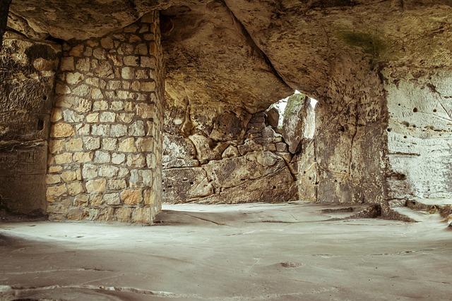Castle, Ruin, Vault, Cave, Space, Room, Hall, Chapel