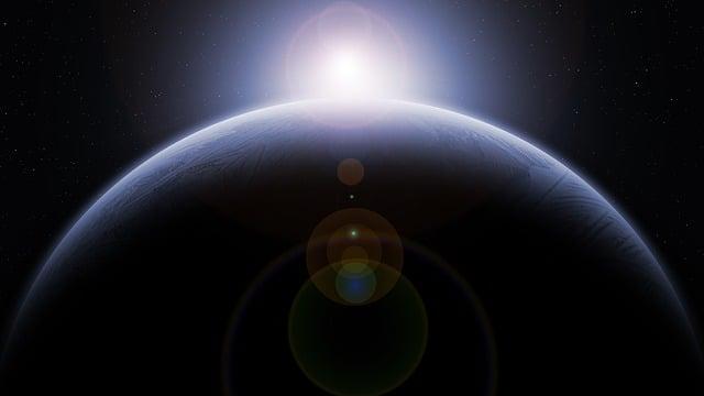 Planet, Moon, Orbit, Solar System, Space, Earth, Globe
