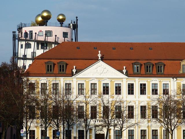 Hundertwasser, Magdeburg, Saxony-anhalt, Space
