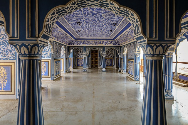 Palace, Jaipur, India, Space, Architecture