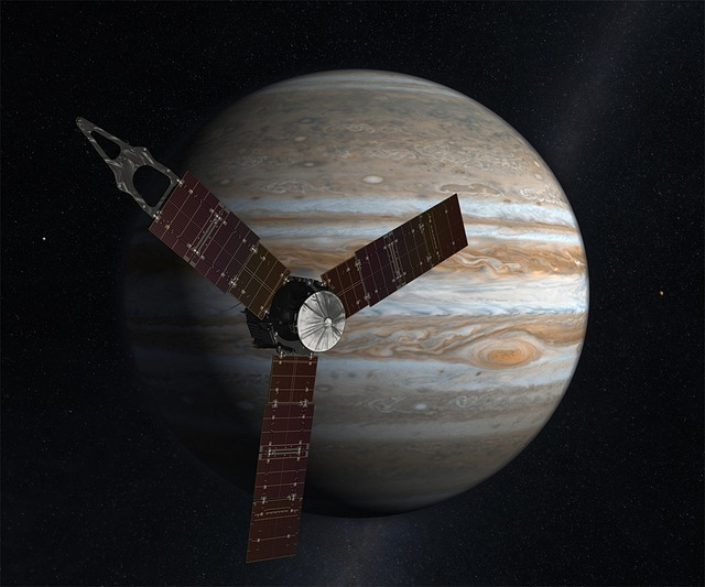 Space Probe, Juno, Planet, Jupiter, Space, Space Travel