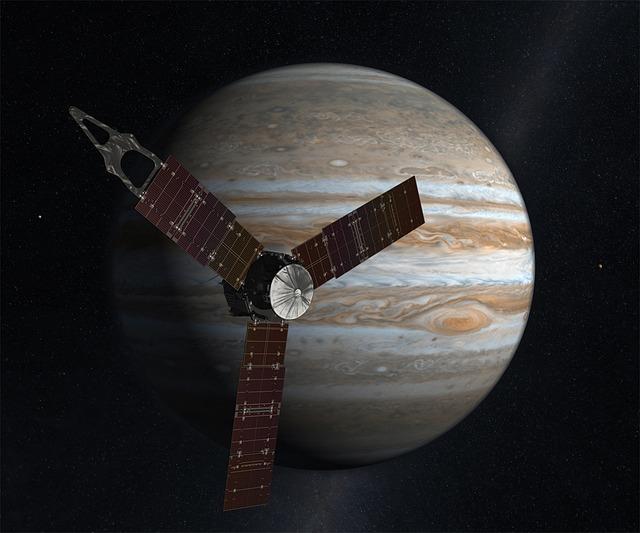 Space Probe, Juno, Planet, Jupiter, Space, Space Travel
