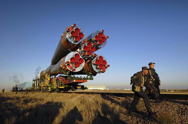 Kazakhstan, Soyuz, Rocket, Space, Travel, Guards, Sky