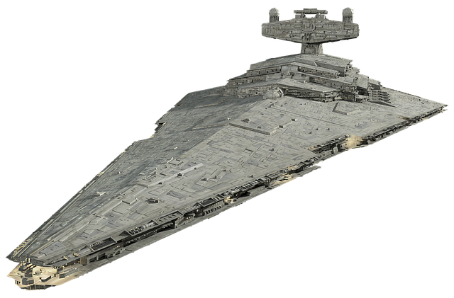 Spaceship, Model, Isolated, Space Ship Model, Starwars