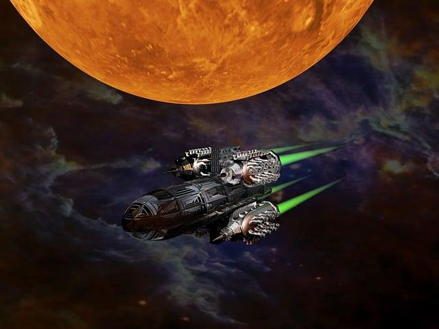 Science Fiction, Space Ship, Rocket, Space Rocket