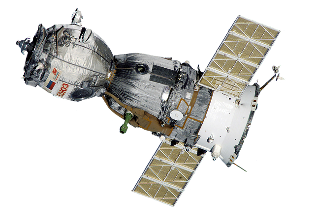 Satellite, Soyuz, Spaceship, Space Station, Aviation