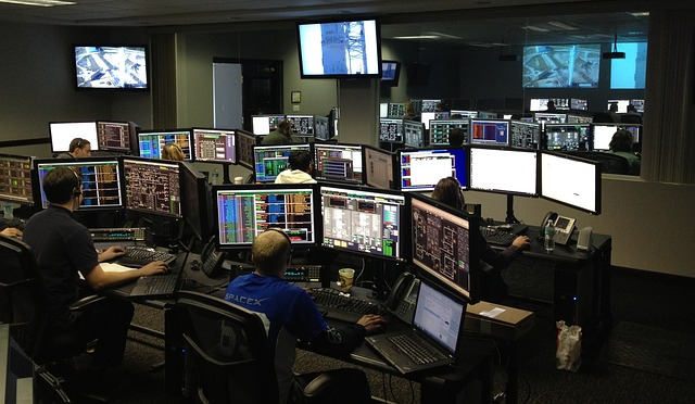 Space Center, Spacex, Control Center, Rocket Science