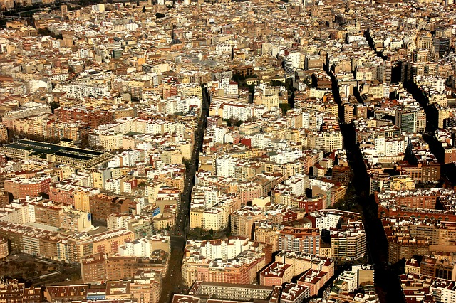 Aerial View, Valence, Spain