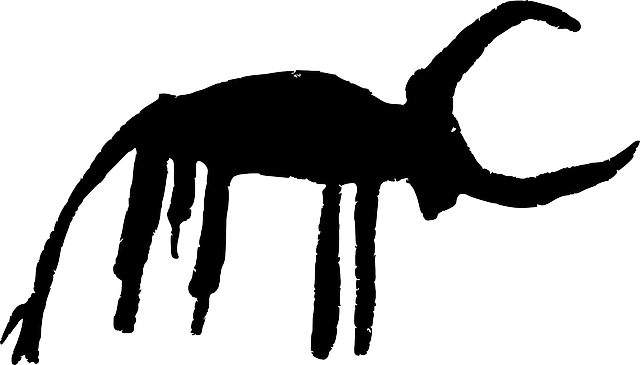 Bovine, Bull, Iberia, Petroglyph, Spain, Ancient