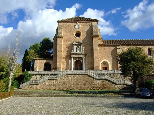 Monastery, Charterhouse, Granada, Andalusia, Spain
