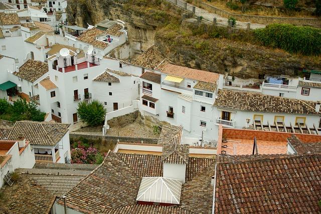 City Views, Spain, Andalusia, Troglodytes, Tiles