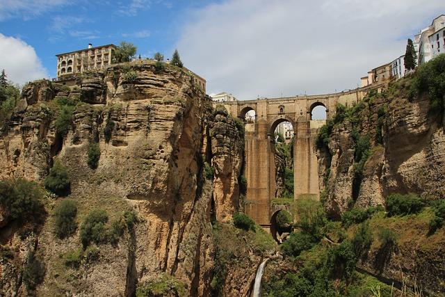 Ronda, Spain, Andalusia, Bridge