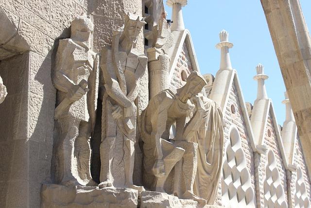 Barcelona, Spain, Sagra, Sagrada Familia, Church