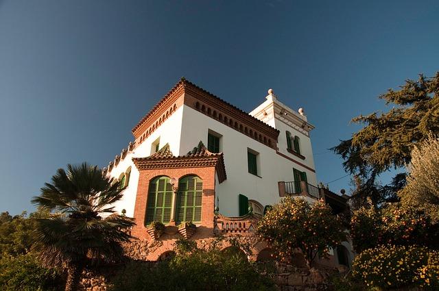 Gaudi, House, Sunny, Spain