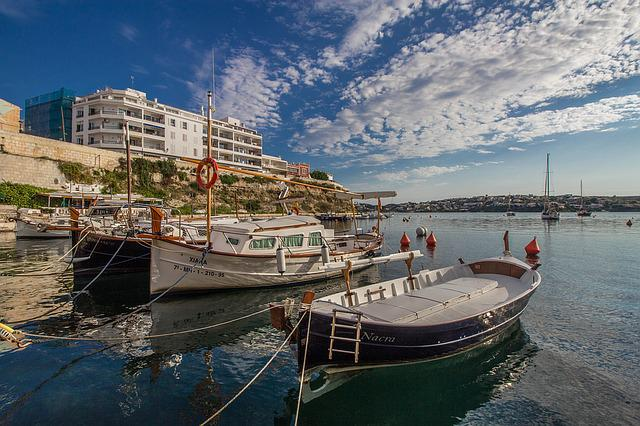 Minorca, Landscapes, Spain, Water, Nature, Boats
