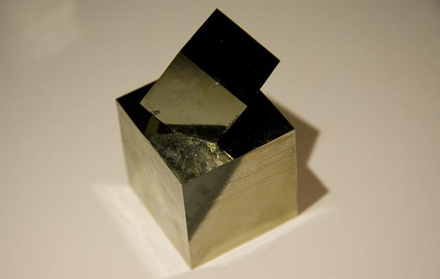 Pyrite, Navajun, Spain, Ore
