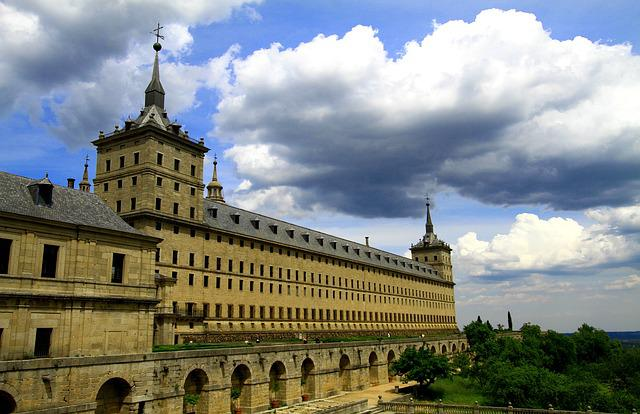 El Escorial, Spain, Architecture, Spanish, Royal