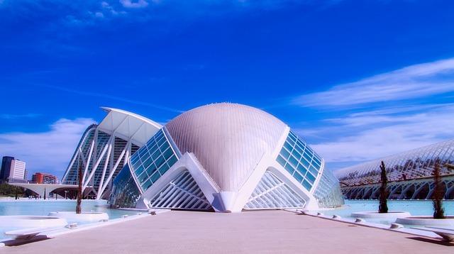 Valencia, Spain, City, Urban, Cityscape, Sky, Clouds