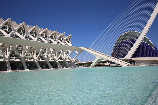 Building, Spain, Valencia, Science Museum, Modern